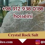 wholesale crystal halite rock salt