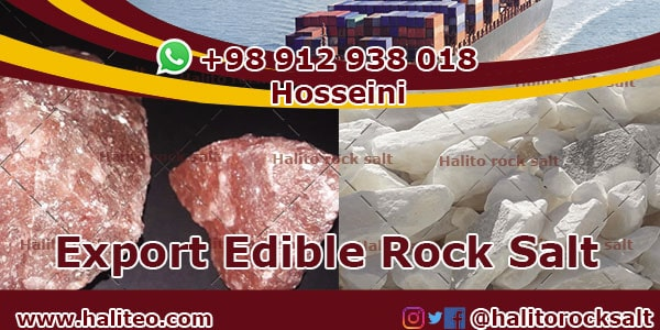edible rock salt