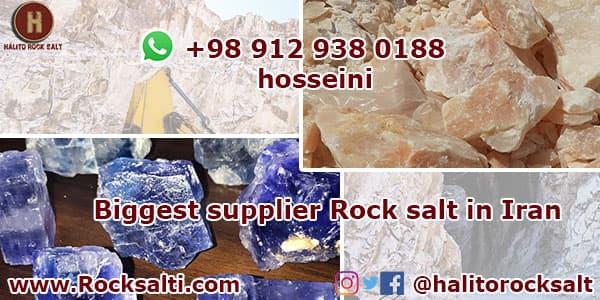 rock salt for export