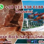 loose rock salt