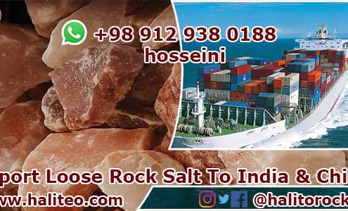 loose rock salt
