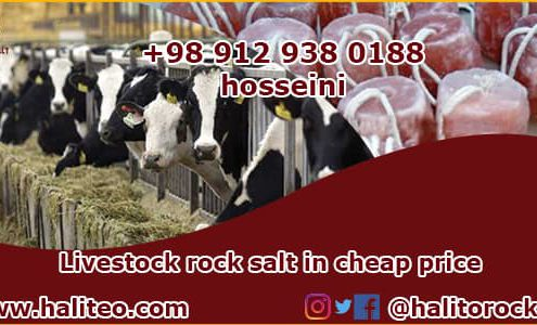 price of rock salt for livestock