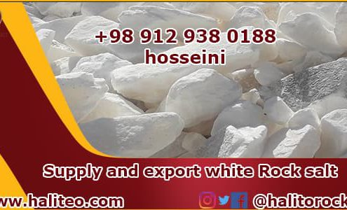 Wholesale rock salt distributor