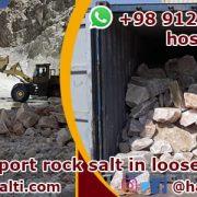 Export of bulk rock salt