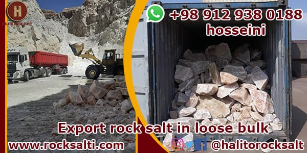 Export of bulk rock salt