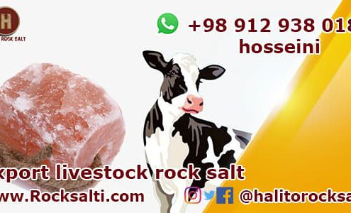 Export livestock rock salt