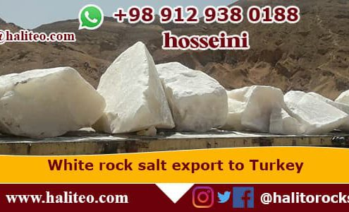 Production of white rock salt