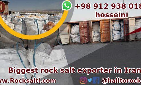 Iran rock salt exporter