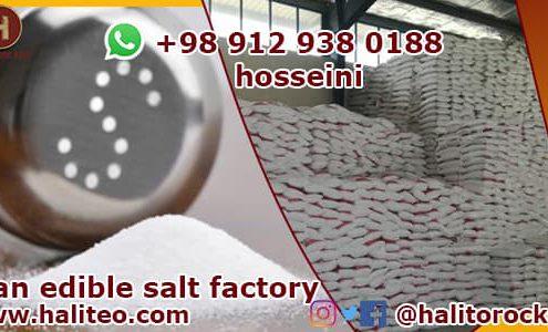 Export refined salt
