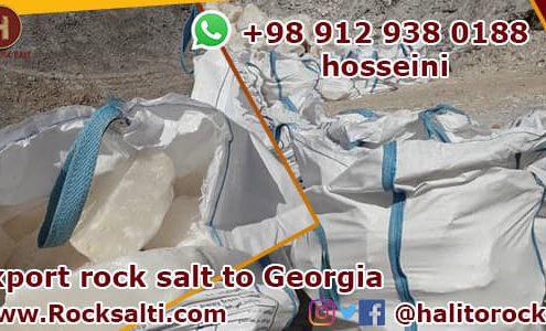Exporter of rock salt to Georgia
