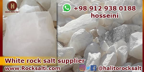 Rock salt supplier