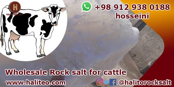 Cattle rock salt
