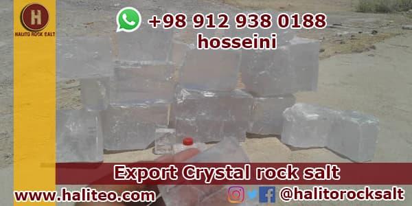 glass crystal rock salt
