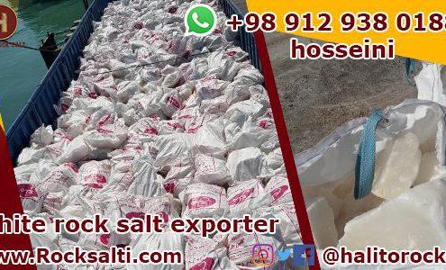 white rock salt